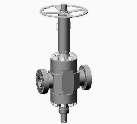 Slab Gate Valves With Ball Screw